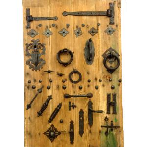 Herrajes artesanales y restauracion rusticos - Herrajes rusticos para puertas ...