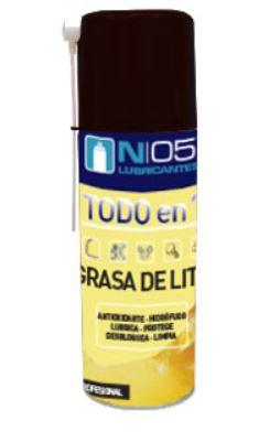 Grasa Litio N05 Spray 400 Ml.